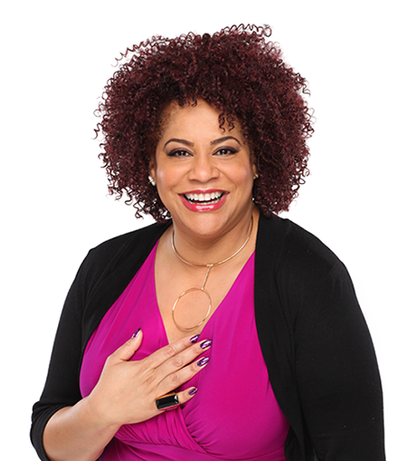 Kim Coles In Living Color - Kim Coles Living Single - Kim Coles comedian and actress - Spokesperson for Specific Beauty