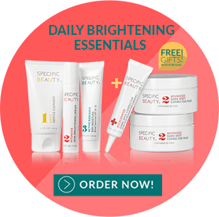 Buy Specific Beauty skincare today for brighter, radiant, even toned and younger-looking skin!