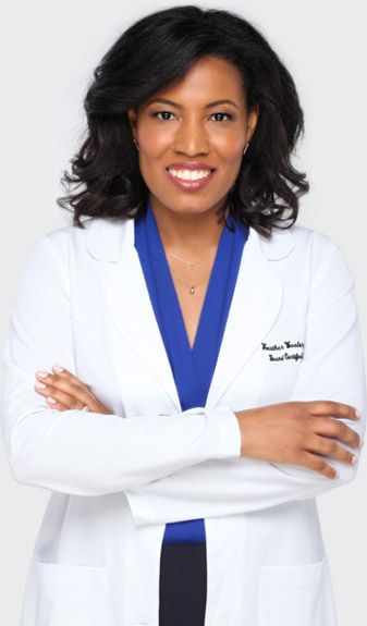 Dr. Heather Woolery-Lloyd, dermatologist, skin care expert, a woman of color, made Specific Beauty for all women of color!
