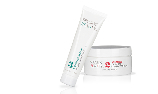 Specific Beauty's skincare kit with 3 free gifts